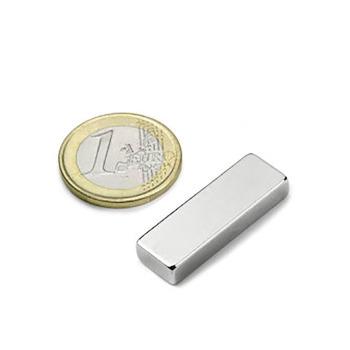 Power magnet, Block 30x10x5 mm.
