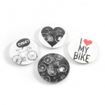 Bike EYE 4 pack, fridge magnets.