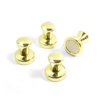 Brass magnets 4-pack from Trendform art. Mini-Max