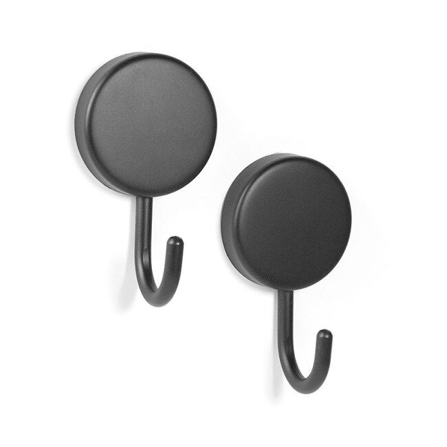 Black magnetic hooks Mamba 2-pack from Trendform