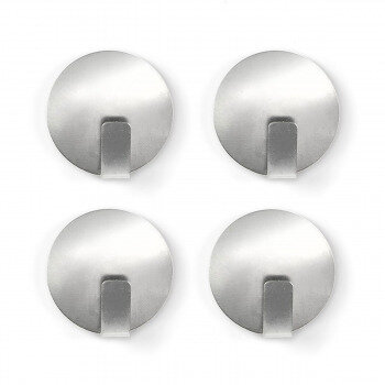 Metal magnet hooks with anti-slip from Trendform 4-pack