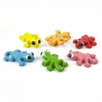 GECKO magnets from Trendform - package of 6 gecco magnets