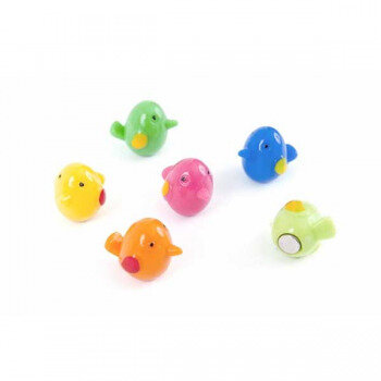 Bird magnets from Trendform - made of colorful acrylic with neodymium magnets (strong)