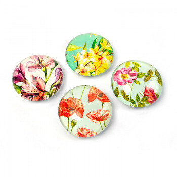 Trendform Flowers are beautiful magnets with flower motifs