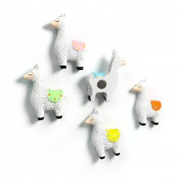 Llama magnets from Trendform in 5 diff. colors