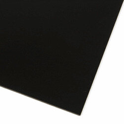 Black magnetic sheet A4