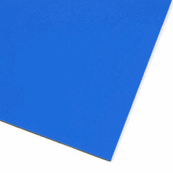 Blue magnetic sheet A4