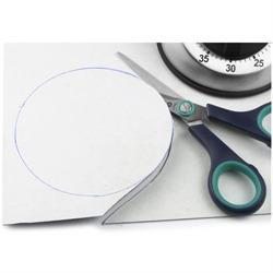 Grey magnetic sheet A4, self-adhesive