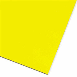 Yellow magnetic sheet A4