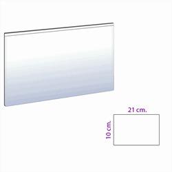 Magnetic pocket 22x10 cm. white