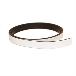 White magnetic foil 10 mm.