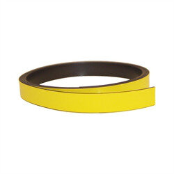 Yellow magnetic foil 10 mm.