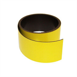 Yellow magnetic foil 40 mm.