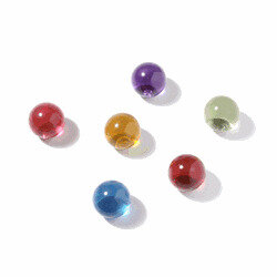 Marbles magnets glass 6 pack.