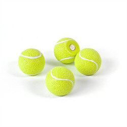 Tennis ball magnets 4 pack.