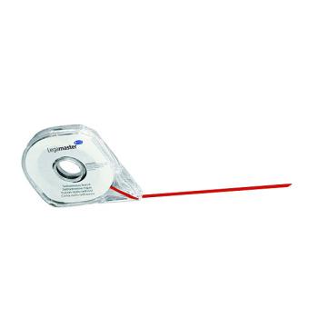 Legamaster red divider tape 2.5 mm.