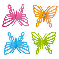 Magnetic butterflies 4-pack