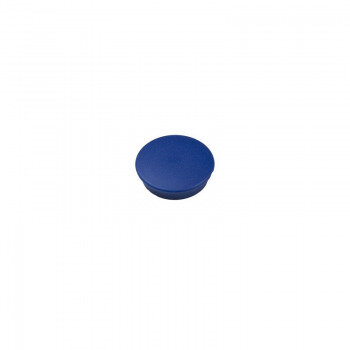 Blue round mini magnet Boston Xtra