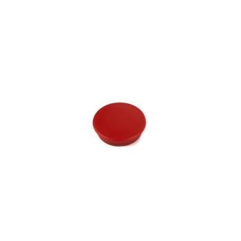 Red round mini magnet Boston Xtra