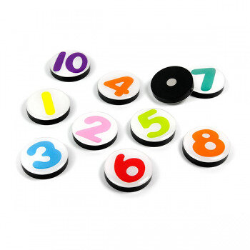 Number magnets from Trendform 1-10
