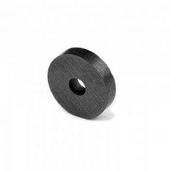 Ferrite ring magnet 22x6x5 mm.