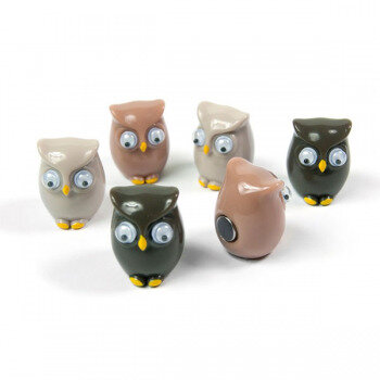 6-pack magnetic owls from Trendform Magnets