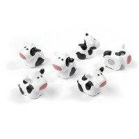 6-pack of magnetic cows from Trendform Magnets