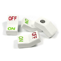 On/off light switch magnets from Trendform