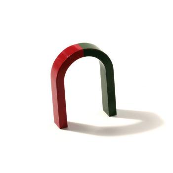 Medium size horseshoe magnet 8x6 cm
