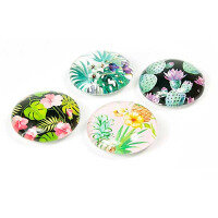 Jungle Flower magnets 4-pack from Trendform