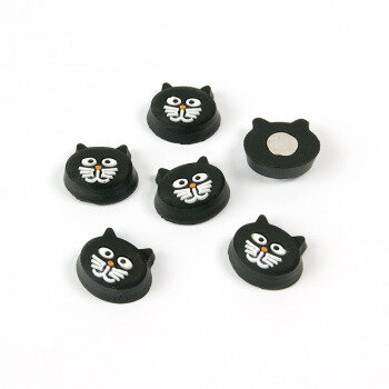 Kitty cat magnets (6 pack) from Trendform in Switzerland.