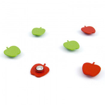 Apple magnet 6 pack from Trendform Magnets