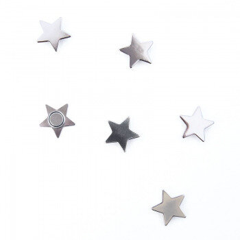 Star magnet 15 mm. 6 pack from Trendform