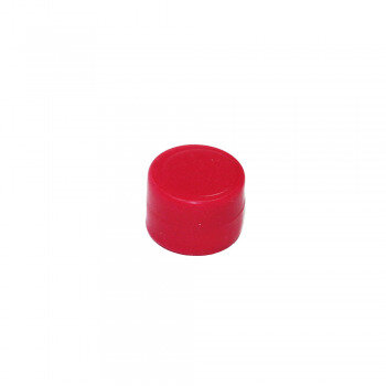 Red rubberised magnet neodymium 4 kg.