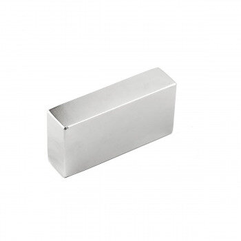 Extremely strong block magnet N40 size 60x30x15 mm.