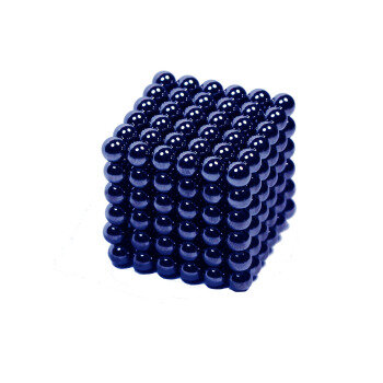 Blue magnetic spheres 216-pack NeoCubes