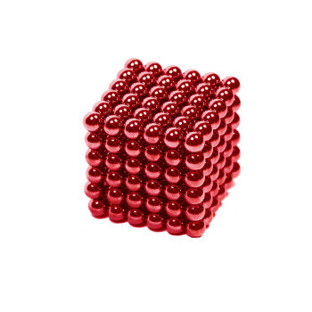 Red zen magnets 216-pack from Magnetpartner
